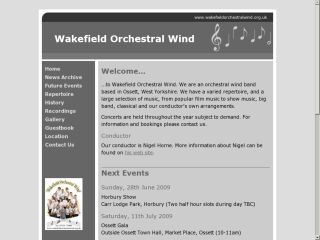 Wakefield Orchestral Wind