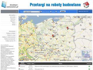 Biuletyn-zamowien.pl - przetargi na roboty budowlane, przetargi na dostawy, przetargi na usługi
