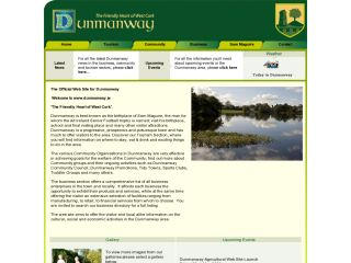 Dunmanway, Ireland Town Site