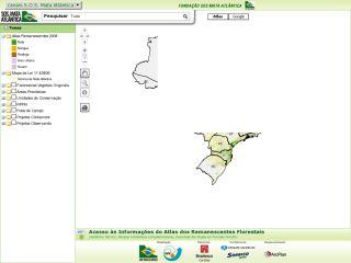 Mapas SOS Mata Atlântica