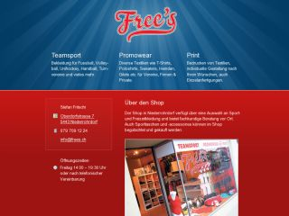 Free's Teamsport, Promowear & Print