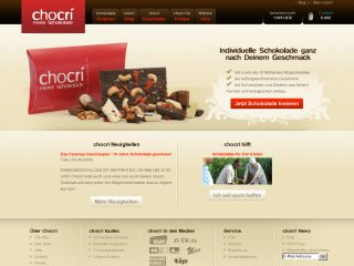 Chocri Chocolate - individual from over 80 ingredients