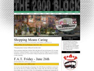The 2000 Block