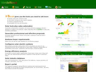 Solar Sales Tools - Verde Nova