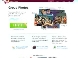 Divvyshot (Group Photo Sharing)