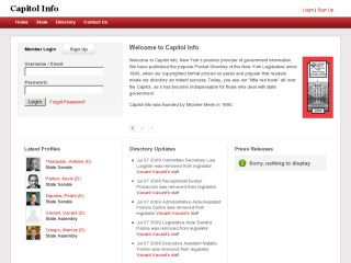 Capitol Info - Online New York State Legislature