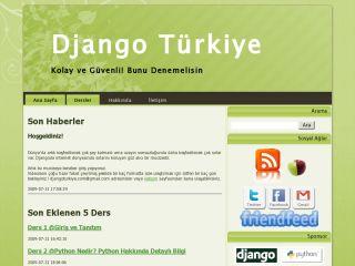 Django için Türkçe görsel ve yazılı eğitim dersleri