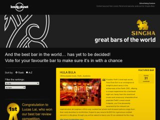 SINGHA great bars of the world