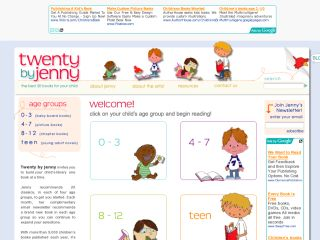 Twenty by Jenny - Best Children's and Teen Books and Reviews