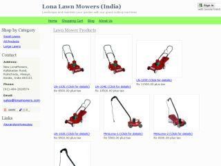 Lona Lawn Mowers