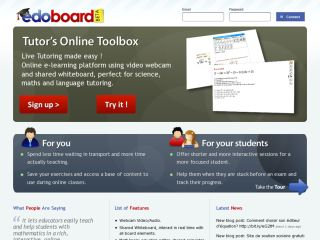 Edoboard the Tutor's Toolbox