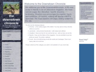 The downstown chronicle