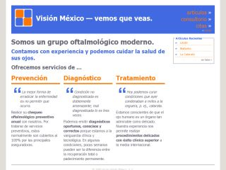 Vision Mexico - Ophthtalmology Practice in Mexico City