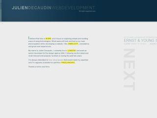 Julien Decaudin Web Development