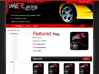 Gang Racing - Mag Wheels & Tyres