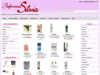 Online store perfume by Profumeria Silvia