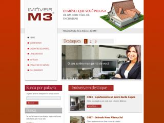 Imóveis M3 - Houses, Apartments, Land, Releases, Rent, Buy
