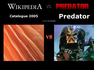 Wikipedia vs. Predator