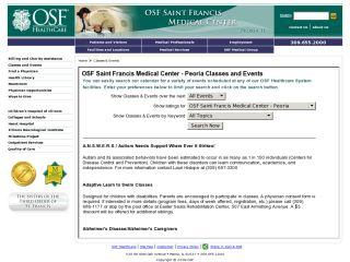 OSF Calendar