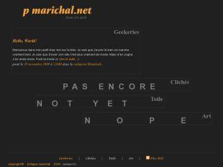 Philippe Marichal's web site