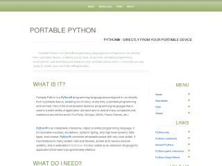 Portable Python project