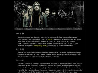 Polish Opeth fansite