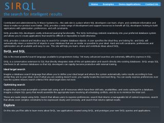 SirQL - state-of-the-art optimization and database search in one