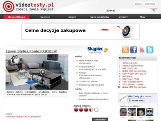 VideoTesty.pl - Recenzje wideo