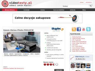 VideoTesty.pl - Recenzje wideo