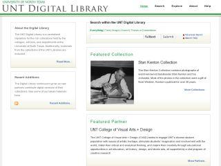 UNT Digital Library