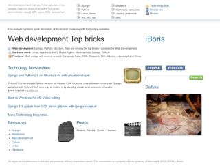 Web development Top bricks