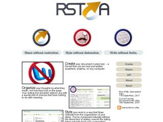 rst2a - Restructured Text to Anything