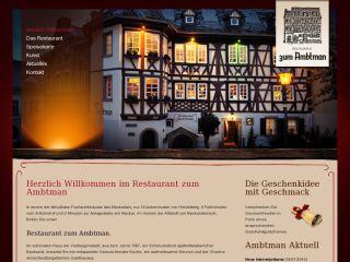 """Restaurant """"zum Ambtman"""""""