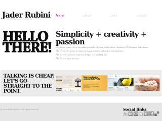 Jader Rubini's Portfolio