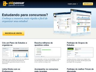 AtéPassar - Organizing your studies.
