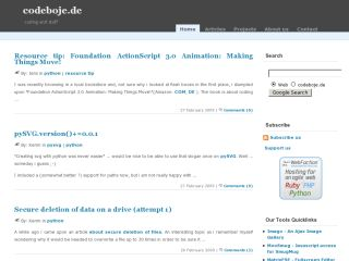 Codeboje Developer Site