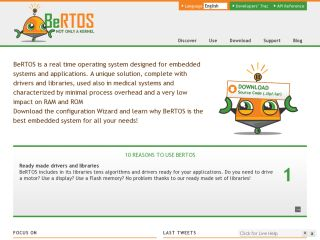 Bertos Real-Time Operting System