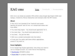 EAG cms
