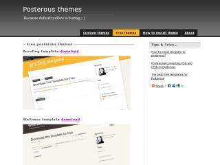 Free posterous themes