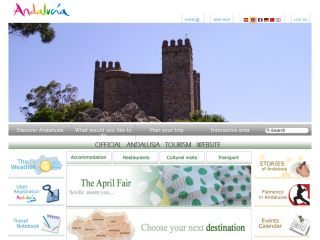 Official Andalusia tourism website