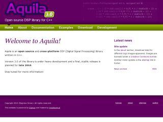 Aquila - a C++ library for digital signal processing