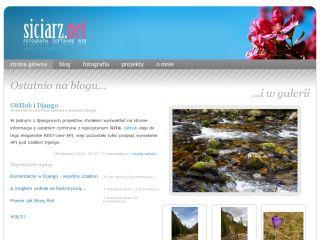 Zbigniew Siciarz - personal site | siciarz.net