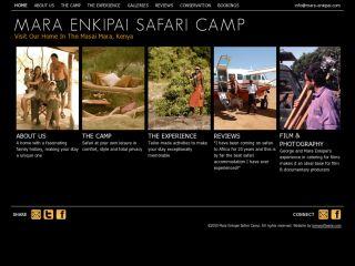 Mara Enkipai Safari Camp, Masai Mara