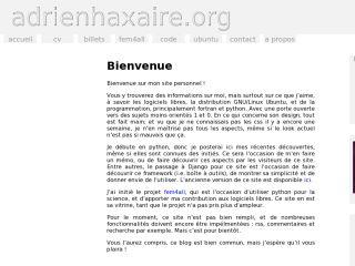 adrienhaxaire.org
