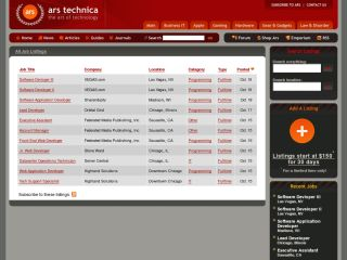 Jobs.ars: The Ars Technica Job Board