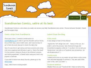 Scandinavian Comics