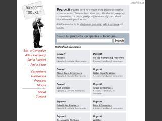 Boycott Toolkit