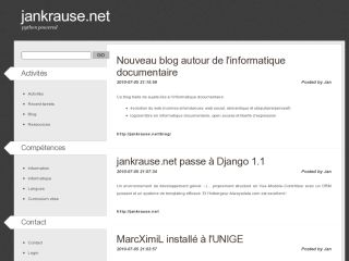 jankrause.net - information science