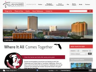 Visit Tallahassee - Florida's Capital City