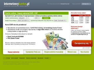 Online Money Exchange Service - internetowykantor.pl